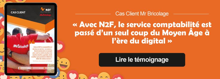 Cas client Mr Bricolage N2F